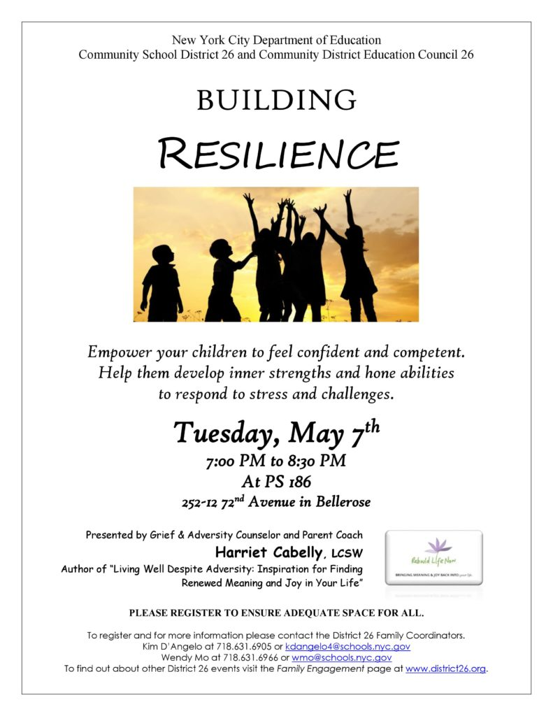 Building Resilience with Harriet Cabelly