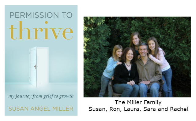 Susan Miller book cover and family